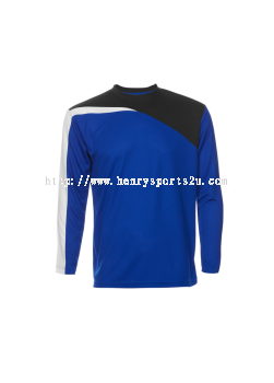 QD5908 Oren Sport Quick Dry Round Neck Long Sleeve Plain Tee