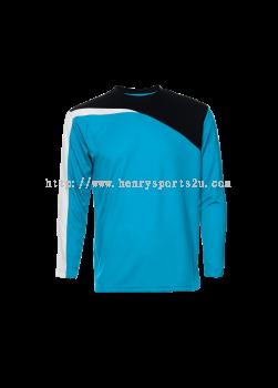 QD5928 Oren Sport Quick Dry Round Neck Long Sleeve Plain Tee