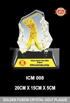 ICM 008 GOLDEN FUSION CRYSTAL