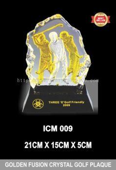 ICM 009 GOLDEN FUSION CRYSTAL