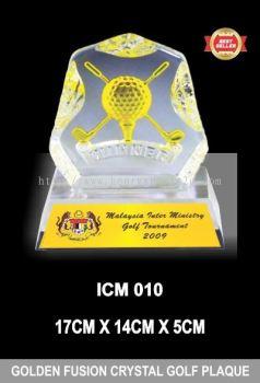 ICM 010 GOLDEN FUSION CRYSTAL