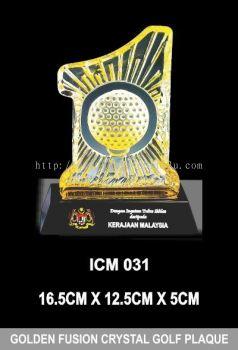ICM 031 GOLDEN FUSION CRYSTAL