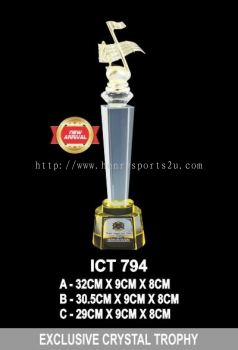 ICT 794 EXCLUSIVE CRYSTAL TROPHY
