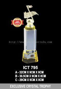 ICT 795 EXCLUSIVE CRYSTAL TROPHY