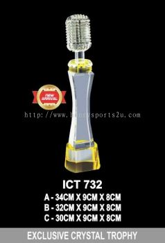 ICT 732 EXCLUSIVE CRYSTAL TROPHY