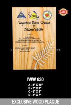 IWW 630 EXCLUSIVE WOOD