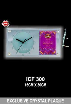 ICF 300 EXCLUSIVE CRYSTAL PLAQUE