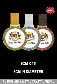 ICM 045 FUSION LED & METAL CRYSTAL MEADL