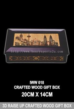 IWW 018 CRAFTED WOOD GIFT BOX