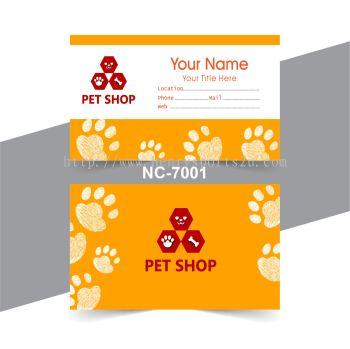 Pet Name Card - NC7001