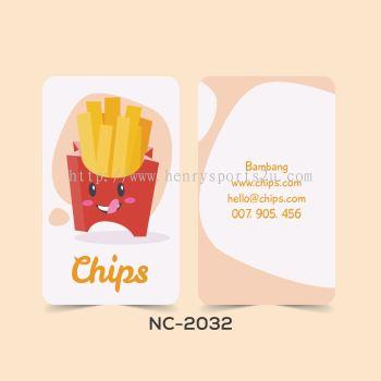 Restaurant Name Card - NC2032