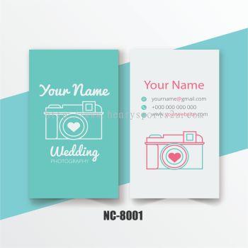 Photograph Name Card - NC8001