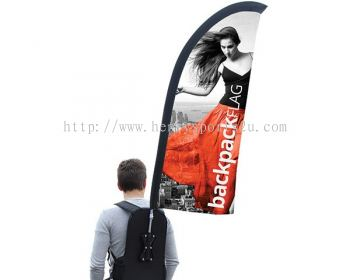 Backpack Flag Bow