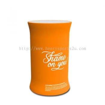 Tension Fabric Promotion Table Oval