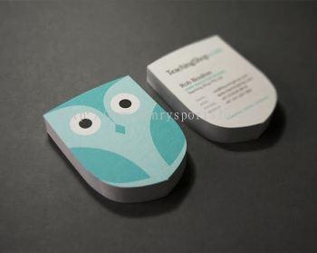 Irregular Name Card / Die Cut Name Card