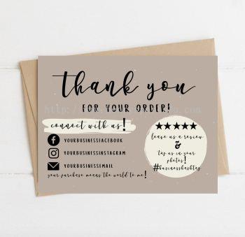 Name Card Material