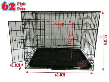 CAT / RABBIT / DOG FOLDABLE METAL PETS CAGE 304