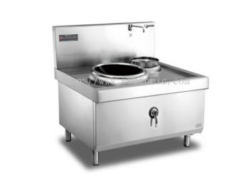 500mm Single Burner Single Basin Induction Wok ZC-C5020A-W