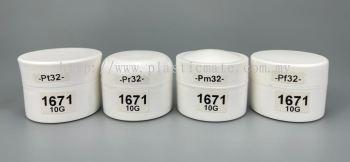 10g Cream Jar : 1671