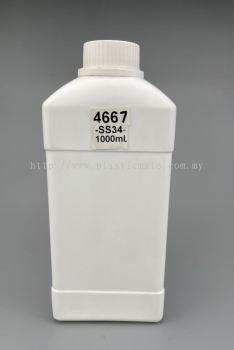 1 Litre Bottle for Chemical : 4667