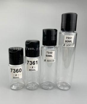 30-80ml Gel-type Bottle : 7360 & 7361 & 7350 & 7351