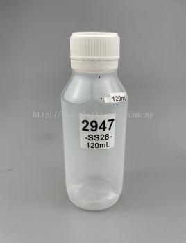 120ml Bottles for Drinks : 2947
