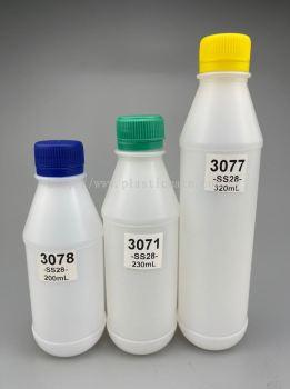 200-320ml Round Series Bottles for Drinks : 3078 & 3071 & 3077