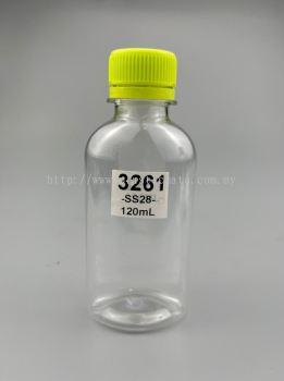 120ml Bottles for Drinks : 3261