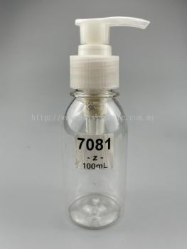 100ml Spray and Pam Bottle : 7081