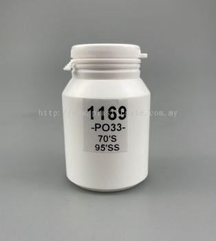 100ml Pharmaceutical Capsule & Tablet Bottle : 1169