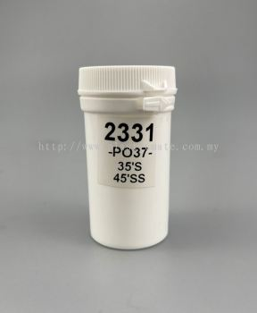 60ml  Pharmaceutical Capsule & Tablet Bottle : 2331