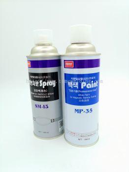 NABAKEM SM-15 BLACK MAGNETIC PARICLE SPRAY & MP-35 WHITE PAINT FOR N.D.T (450ML/BTL)