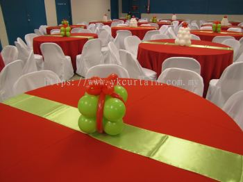 Banquet tables & chairs Decoration cover