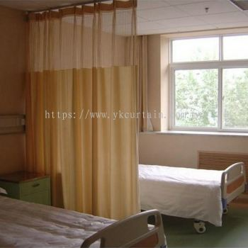 hospital anti bacteria bed curtain