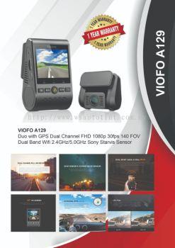 Dash Cam Puchong , Selangor,VIOFO  A129 Duo innovation , move experience dash cam