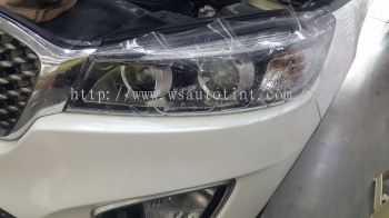 Headlamps Paint Protection film to protect yellowing, stone chips & scratches.