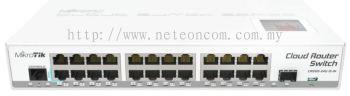 MikroTik CRS125-24G-1S-IN Gigabit Switch