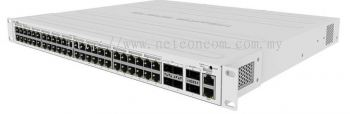MikroTik CRS354-48P-4S+2Q+RM POE Gigabit Switch