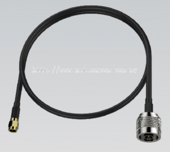 Wisnetworks 0.5m LMR200 RP-SMA to N Pigtail WIS-PT50SN