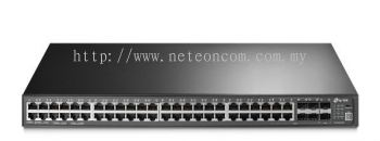 TP-Link T3700G-52TQ JetStream 52-Port Gigabit Stackable L3 Managed Switch