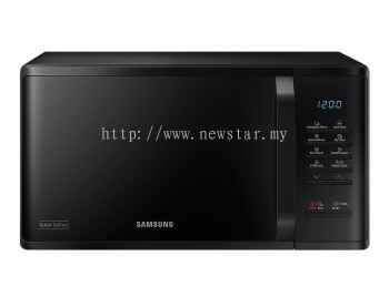 Samsung Solo Microwave Oven with Quick Defrost, 23L (MS23K3513AK)