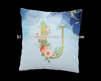 pillow alphabet design