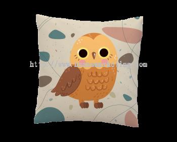 pillow owl design