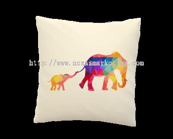 pillow geometric design