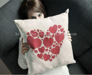 valentine pillow design