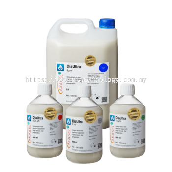 Akasel Polishing Consumables (2-in-1 Diamond Suspensions) DiaUltra Series
