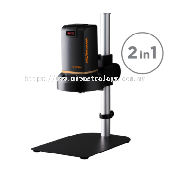 Vitiny HDMI Digital Microscope 2-in-1 Upgrade with Inspection+Image Capture Function (UM08C Series)