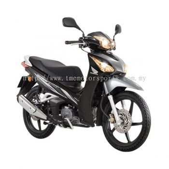 Wave125 i (Pearl Magellanic Black with Candy Scintillate Red)