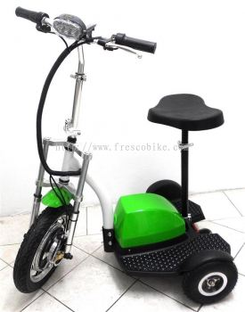 Electric Scooter 3 Wheel BIKE 500W 48V With Suspension