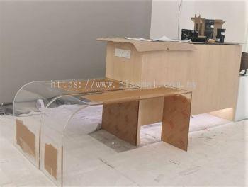 12mm clear acrylic table